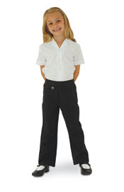 Junior Banner Girls Boot Leg Trousers