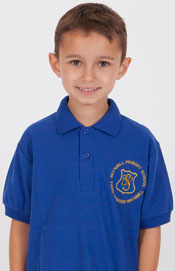 Brynmill Primary School Royal Polo Shirt