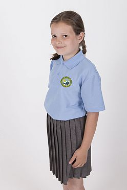 Bishopston Primary School Polo Shirt (New Badge)
