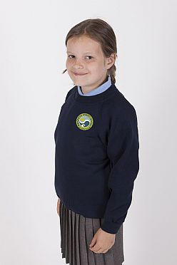 Bishopston Primary School Sweatshirt (New badge)