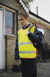 Junior High Visibility Safety Vest
