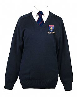 Olchfa School Boys & Girls V-Neck Sweatshirt