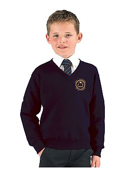 Dylan Thomas School Vneck Sweatshirt