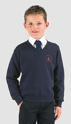 St Davids Catholic School Vneck Sweater