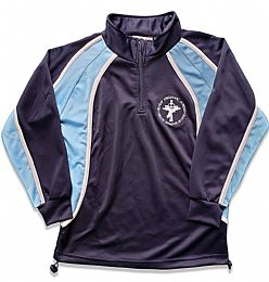 Bishop Vaughan Games  PE 1/4 Zip Top